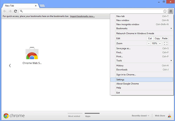 Google Chrome Settings