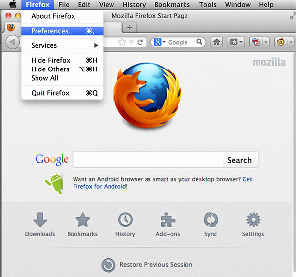 GMO GlobalSign | Install PKCS#12 File - MAC OS Firefox