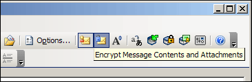 Encrypt Message Contents and Attachments