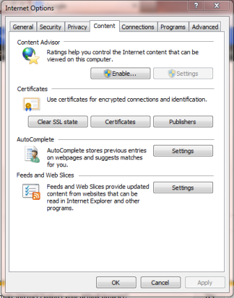 Internet Explorer Export Content Certificates