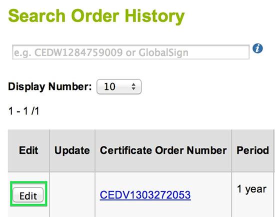 GMO GlobalSign | Reissue Certificate - SSL Certificates