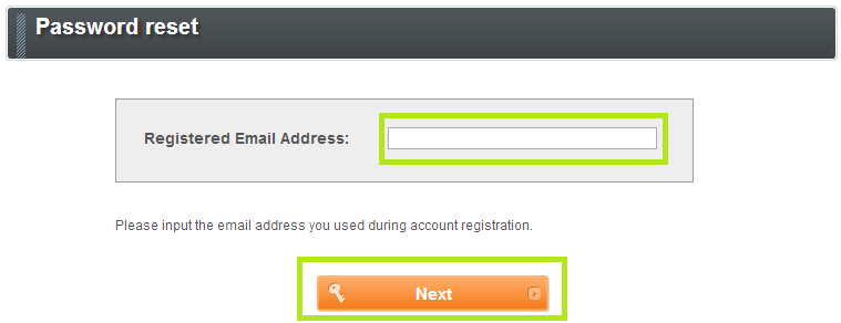 Registered Email