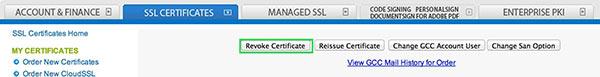 Revoke Certificate