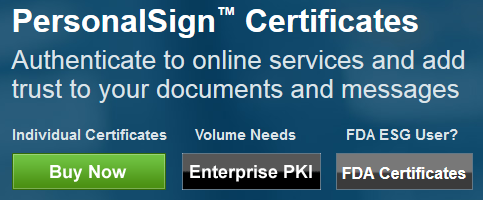 Click FDA Certificates