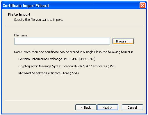 windows xp root certificate update 2015