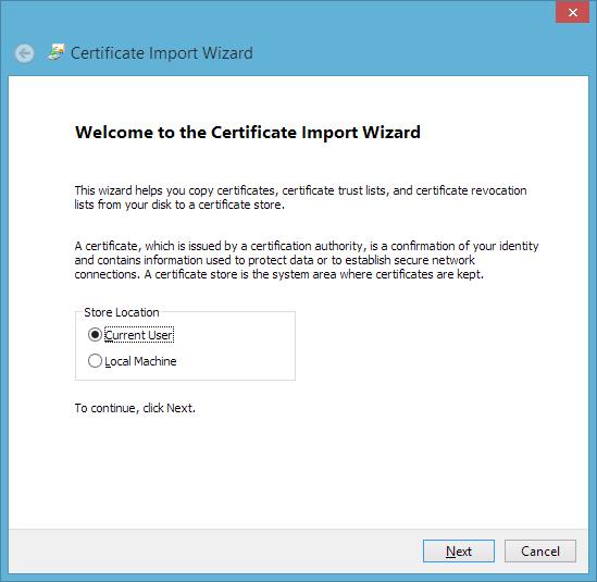 install the globalsign root ca certificate mac