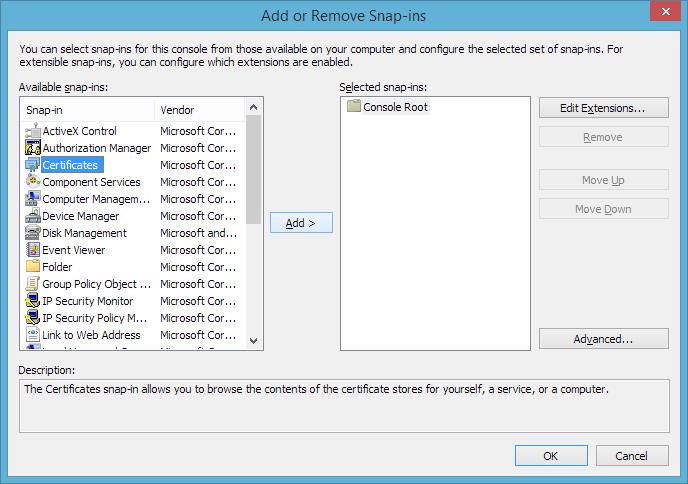 Gmo Globalsign Generate Ecc Csr Windows Server 2008