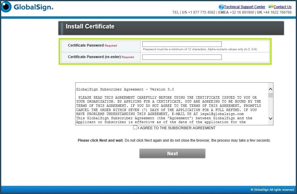 Gmo Globalsign Download Multi Platform Code Signing Cer