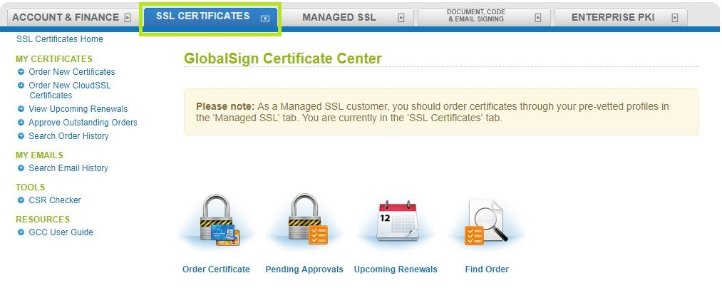 Gmo Globalsign How To Transfer An Ssl Certificate