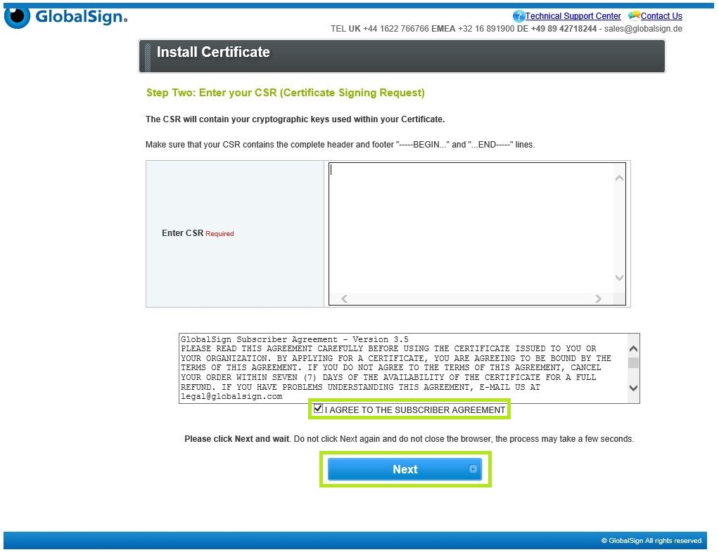 Gmo Globalsign Download And Install Code Signing Certif