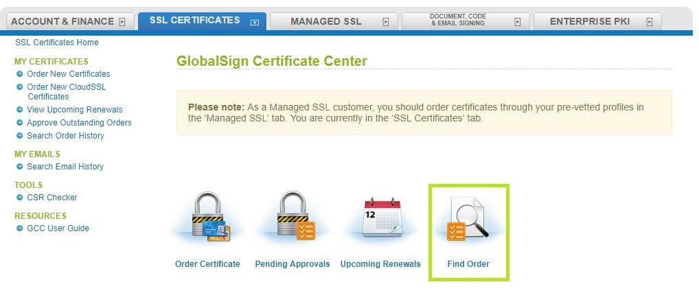 GMO GlobalSign   Reissue Certificate - SSL Certificates