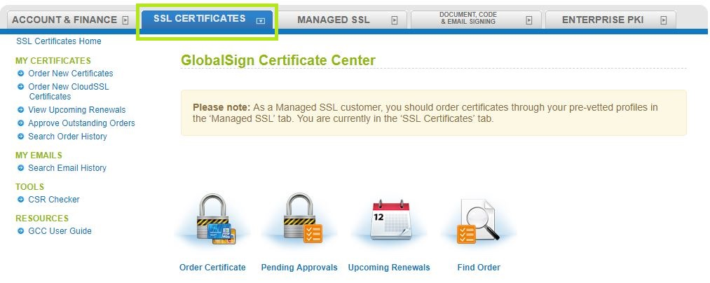 Gmo Globalsign Renew Your Ssl Certificate