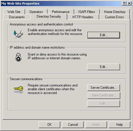 Install Certificate Micro Exchange 2003 03.png