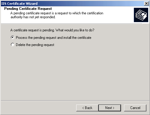 Install Certificate Micro Exchange 2003 05.png